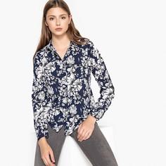 Блузка с цветочным рисунком и длинными рукавами Best Mountain