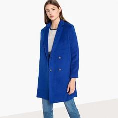 Пальто длинное из полушерстяной ткани EUGENIE Suncoo