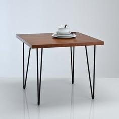Стол обеденный квадратный в винтажном стиле, Watford La Redoute Interieurs