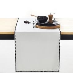 Дорожка столовая однотонная из хлопка и льна ADRIO La Redoute Interieurs