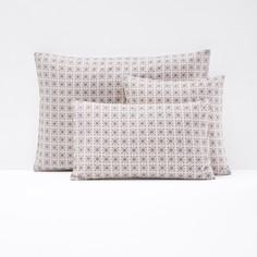 Чехол на подушку или наволочка из перкали AMELIA La Redoute Interieurs