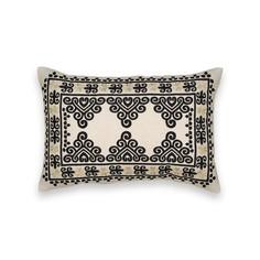 Чехол на подушку с вышивкой, Rattaoui Am.Pm.