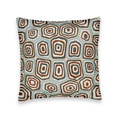 Чехол на подушку-валик с рисунком агаты, Dounaoui Am.Pm.