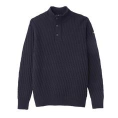 Пуловер со стоячим воротником на молнии и с пуговицами PL BARKLEY 1 Schott