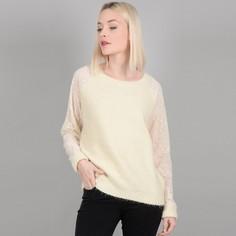 Пуловер с круглым вырезом из тонкого трикотажа Molly Bracken