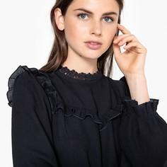 Блузка с воротником-стойкой LAURA Suncoo