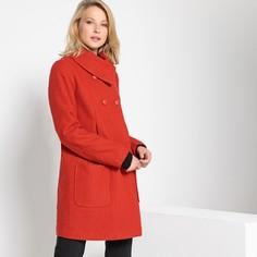 Пальто средней длины из полушерстяной ткани Anne Weyburn