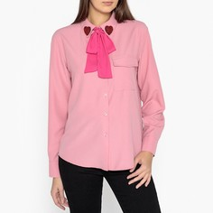 Блузка с оригинальным воротником и завязками Sister Jane