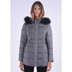 Куртка из двух материалов с капюшоном с оторочкой из искусственного меха Kaporal 5