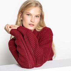 Пуловер с воротником-стойкой из плотного трикотажа Pepe Jeans