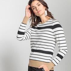 Пуловер в полоску из тонкого трикотажа Anne Weyburn