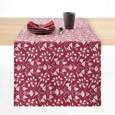 Дорожка столовая с принтом из льна и хлопка ROMANE La Redoute Interieurs