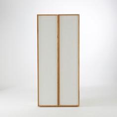 2-дверный шкаф с 5 полками из массива дуба, Compo La Redoute Interieurs