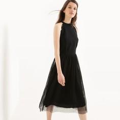 Платье расклешенное средней длины без рукавов Mademoiselle R