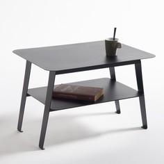 Столик журнальный с 2 столешницами из стали, Hiba La Redoute Interieurs