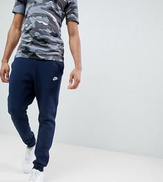 Темно-синие джоггеры с логотипом Nike Club 804408-451 - Темно-синий