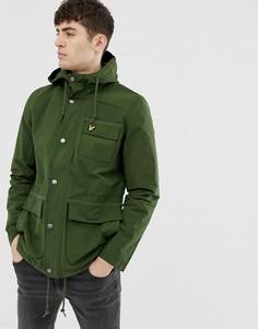 Куртка с флисовой подкладкой Lyle & Scott - Зеленый