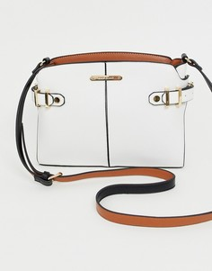 Белая сумка через плечо с контрастным ремешком River Island - Белый