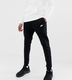 Черные джоггеры с логотипом Nike Club 804408-010 - Черный