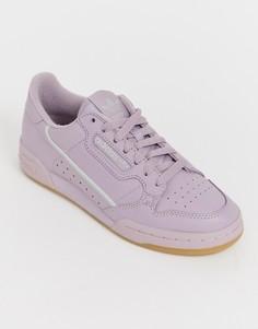 Розовато-лиловые кроссовки adidas Originals Continental 80 - Мульти
