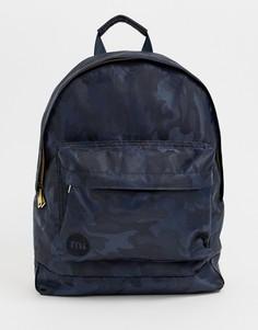 Рюкзак с камуфляжным принтом Mi-Pac - Темно-синий