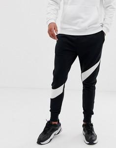 Черные джоггеры Nike Hybrid - Черный