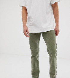 Суженные книзу джинсы цвета хаки Reclaimed Vintage the 89 - Зеленый