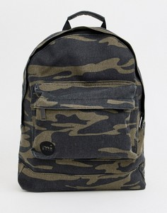 Парусиновый рюкзак с камуфляжным принтом Mi-Pac Premium - Мульти