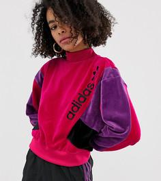 Свитшот с логотипом adidas Originals - Розовый