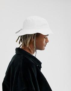Белая шляпа с отделкой шнуром ASOS DESIGN - Белый