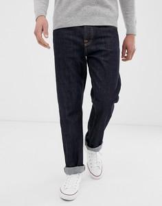 Свободные суженные книзу джинсы синего цвета Nudie Jeans Co Sleepy Sixten - Синий