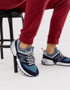 Темно-синие кроссовки New Balance 574V2 - Темно-синий