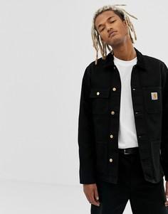 Черная куртка из 100% органического хлопка Carhartt WIP Michigan - Черный