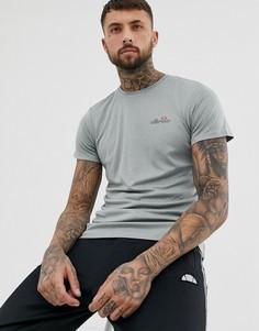 Серая меланжевая спортивная футболка с небольшим логотипом ellesse Becketi - Серый