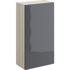 Шкаф Cersanit Smart корпус ясень, фасад серый (B-SW-SMA/Gr)