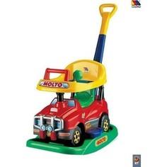 Автомобиль-каталка Molto 63007 Джип Викинг №2 многофункциональный, без звука, красный