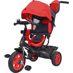 Велосипед трехколесный GALAXY Лучик (красный) (1636623)