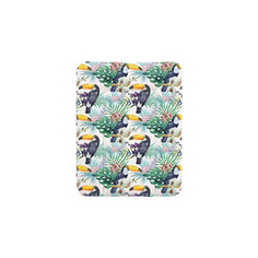 Пеленальный матрас Ceba Baby 70x50 см Flora Fauna мягкий на комод W-143(Tucan W-143-099-544) (123755)