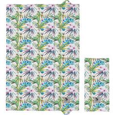 Пеленальный матрас Ceba Baby Flora Fauna 40х60 для путешествий W-305(Camaleon Blanco W-305-099-542) (123786)