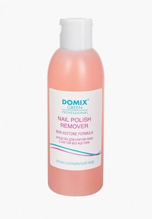 Средство для снятия лака Domix NAIL POLISH REMOVER NON ACETONE FORMULA, без ацетона