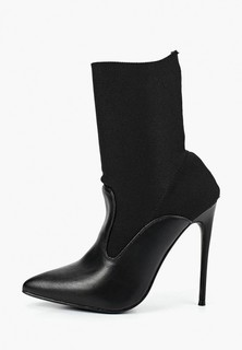 Полусапоги LOST INK JULIET KNITTED INSERT STILETTO BOOT