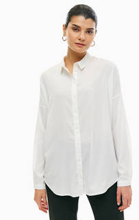 Белая блуза на пуговицах Vero Moda
