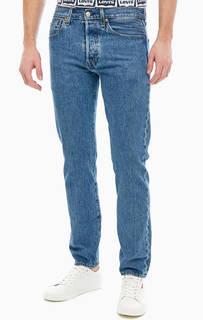 Синие джинсы на болтах 501® Slim Taper Levis
