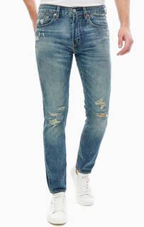 Рваные джинсы с низкой посадкой 512™ Slim Taper Levis