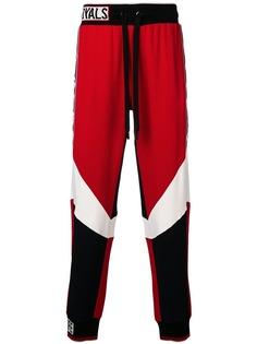 Dolce & Gabbana спортивные брюки с полосками и принтом панды