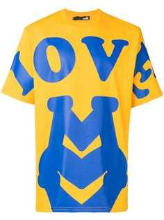 Love Moschino футболка в стиле оверсайз с принтом