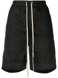 Rick Owens DRKSHDW спортивные шорты с завышенной талией
