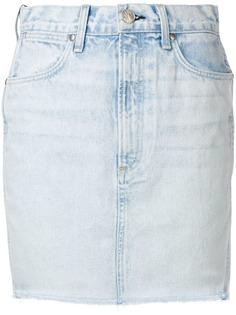 Rag & Bone джинсовая юбка мини