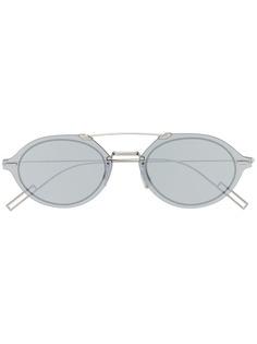 Dior Eyewear солнцезащитные очки в овальной оправе