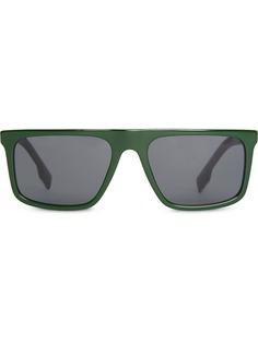 Burberry Eyewear солнцезащитные очки с прямым верхом